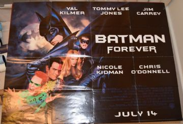Movie Posters - Batman Forever | Jim Carrey | Nicole Kidman